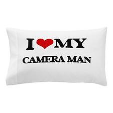 I love my Camera Man Pillow Case