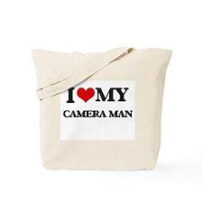 I love my Camera Man Tote Bag