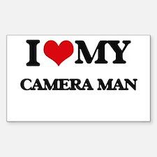 I love my Camera Man Decal