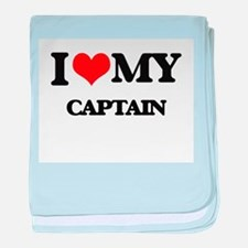 I love my Captain baby blanket