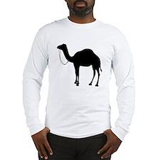 Camel Silhouette Long Sleeve T-Shirt
