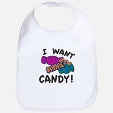 Want Candy Bib