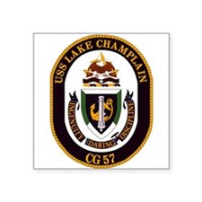 USS Lake Champlain (CG 57) Sticker