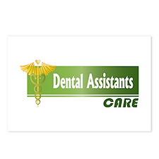 Dental Assistants Care Postcards (Package of 8)
