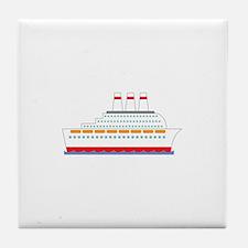 Cruise Ship Tile Coaster
