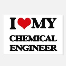 I love my Chemical Engine Postcards (Package of 8)