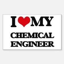 I love my Chemical Engineer Decal