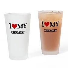 I love my Chemist Drinking Glass