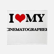 I love my Cinematographer Throw Blanket