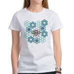 Honeybee & Flowers Women's T-Shirt