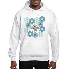 Honeybee & Flowers Hoodie