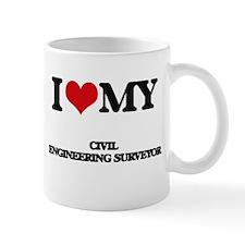 I love my Civil Engineering Surveyor Mugs