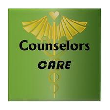Counselors Care Tile Coaster