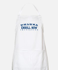 Enroll Now - Dharma Initiative BBQ Apron