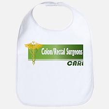 Colon/Rectal Surgeons Care Bib