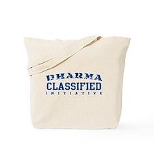 Classified - Dharma Initiative Tote Bag