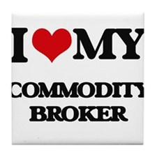 I love my Commodity Broker Tile Coaster