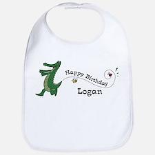 Happy Birthday Logan (gator) Bib
