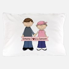 Someone I Love Is A Suvivor Couple Pillow Case