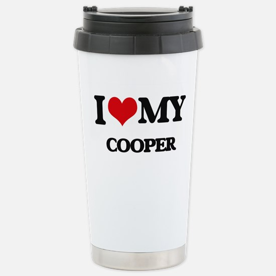 I love my Cooper Stainless Steel Travel Mug