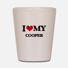 I love my Cooper Shot Glass