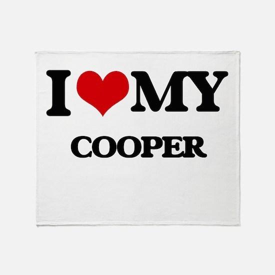 I love my Cooper Throw Blanket