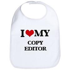 I love my Copy Editor Bib