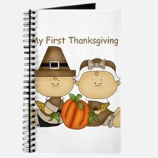 My First Thanksgiving Journal