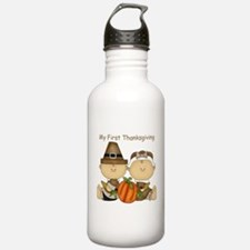 My First Thanksgiving Water Bottle