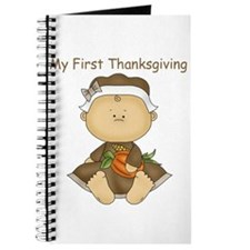 My First Thanksgiving - Baby Girl Journal