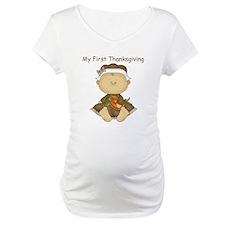 My First Thanksgiving - Baby Girl Shirt