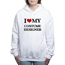 I love my Costume Design Women's Hooded Sweatshirt