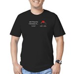 Christmas Love Men's Fitted T-Shirt (dark)