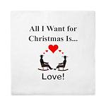 Christmas Love Queen Duvet