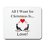 Christmas Love Mousepad