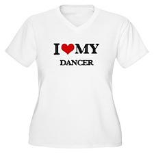 I love my Dancer Plus Size T-Shirt