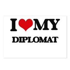 I love my Diplomat Postcards (Package of 8)