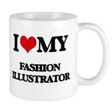 I love my Fashion Illustrator Mugs