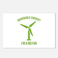 Renewable Energy Postcards (Package of 8)