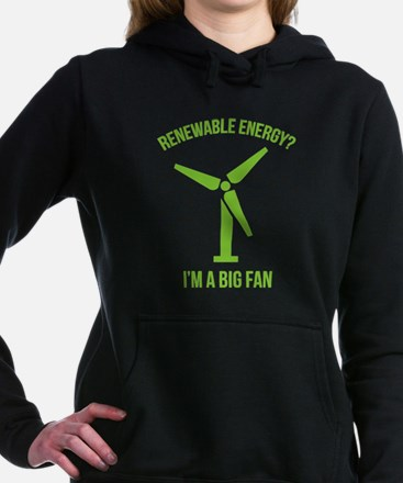 Renewable Energy Hooded Sweatshirt