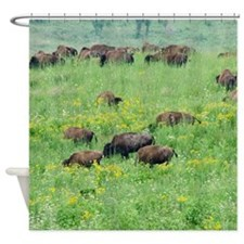 Spring Herd Shower Curtain