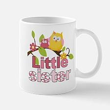 Happy Owls Little Sister Mugs