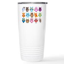 Unique Owl Travel Mug