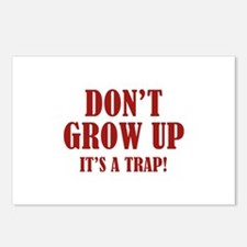 Don't Grow Up. It's A Trap. Postcards (Package of