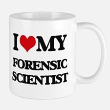 I love my Forensic Scientist Mugs