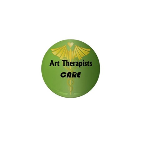 Art Therapists Care Mini Button (10 pack)
