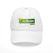 Art Therapists Care Baseball Cap