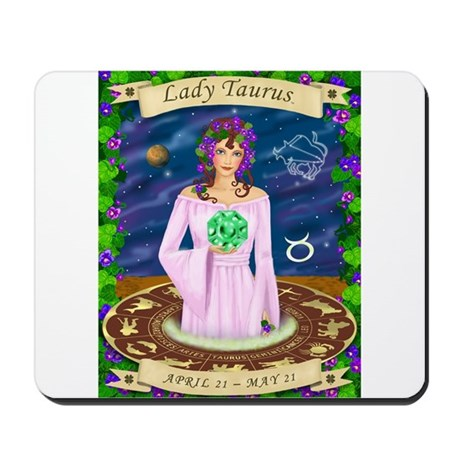 Lady Taurus Mousepad