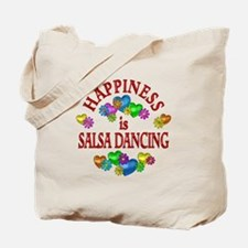 Happiness is Salsa Tote Bag