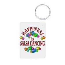 Happiness is Salsa Keychains